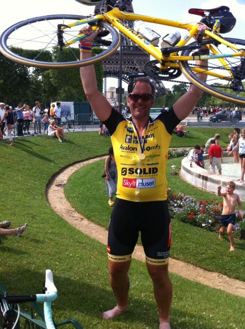 Peter Jakobsson som dock ej cyklar 2014.